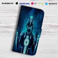 Tron Darth Vader Custom Leather Wallet iPhone 4/4S 5S/C 6/6S Plus 7| Samsung Galaxy S4 S5 S6 S7 Note 3 4 5| LG G2 G3 G4| Motorola Moto X X2 Nexus 6| Sony Z3 Z4 Mini| HTC ONE X M7 M8 M9 Case