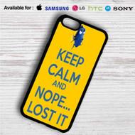 Dory Keep Calm and Nope Lost It iPhone 4/4S 5 S/C/SE 6/6S Plus 7| Samsung Galaxy S4 S5 S6 S7 NOTE 3 4 5| LG G2 G3 G4| MOTOROLA MOTO X X2 NEXUS 6| SONY Z3 Z4 MINI| HTC ONE X M7 M8 M9 M8 MINI CASE