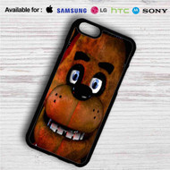 Freddy Fazbear Face iPhone 4/4S 5 S/C/SE 6/6S Plus 7| Samsung Galaxy S4 S5 S6 S7 NOTE 3 4 5| LG G2 G3 G4| MOTOROLA MOTO X X2 NEXUS 6| SONY Z3 Z4 MINI| HTC ONE X M7 M8 M9 M8 MINI CASE