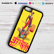 Harley Quinn and Stitch iPhone 4/4S 5 S/C/SE 6/6S Plus 7| Samsung Galaxy S4 S5 S6 S7 NOTE 3 4 5| LG G2 G3 G4| MOTOROLA MOTO X X2 NEXUS 6| SONY Z3 Z4 MINI| HTC ONE X M7 M8 M9 M8 MINI CASE