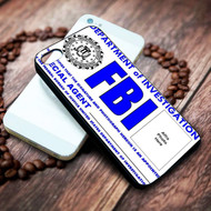 fbi card custom photos on your case iphone 4 4s 5 5s 5c 6 6plus 7 case / cases