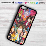 Rick and Morty City iPhone 4/4S 5 S/C/SE 6/6S Plus 7| Samsung Galaxy S4 S5 S6 S7 NOTE 3 4 5| LG G2 G3 G4| MOTOROLA MOTO X X2 NEXUS 6| SONY Z3 Z4 MINI| HTC ONE X M7 M8 M9 M8 MINI CASE