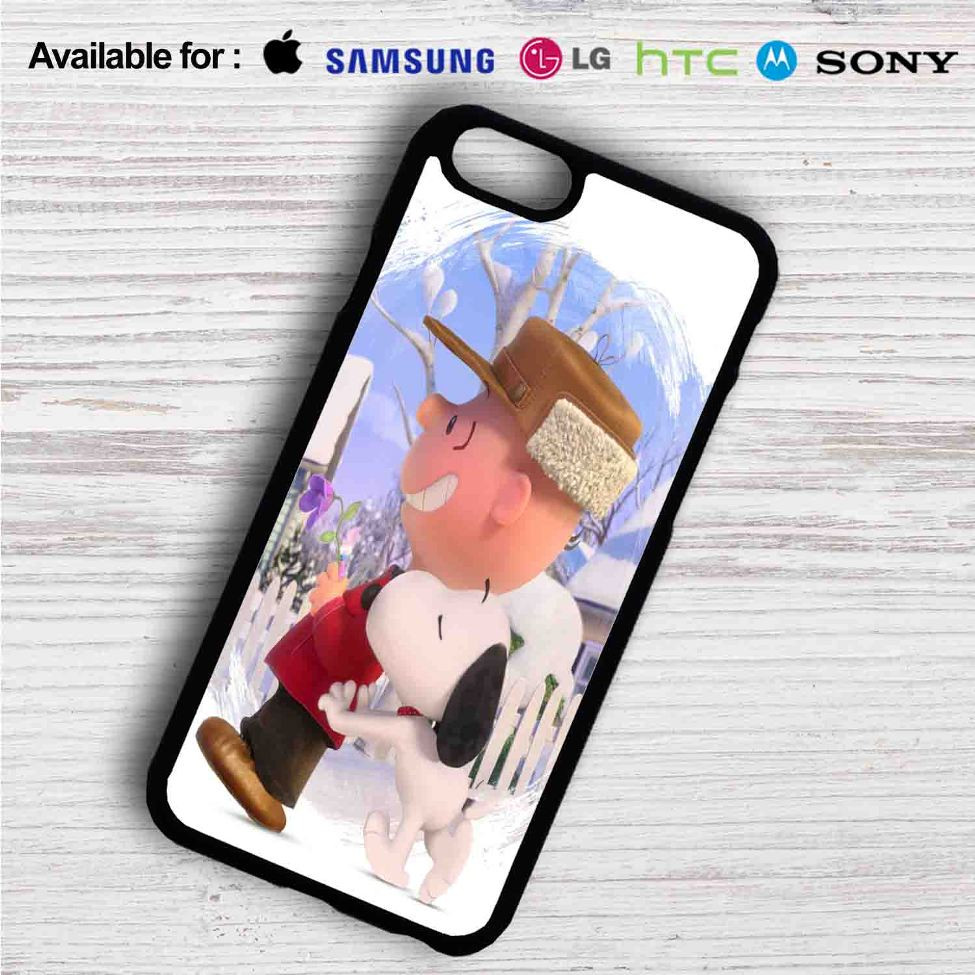 premium selection b7f39 9d05d Snoopy and Charlie Brown The Peanuts Movie iPhone 4/4S 5 S/C/SE 6/6S Plus  7| Samsung Galaxy S4 S5 S6 S7 NOTE 3 4 5| LG G2 G3 G4| MOTOROLA MOTO X X2  ...