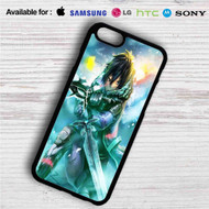 Sword Art Online Kirito iPhone 4/4S 5 S/C/SE 6/6S Plus 7| Samsung Galaxy S4 S5 S6 S7 NOTE 3 4 5| LG G2 G3 G4| MOTOROLA MOTO X X2 NEXUS 6| SONY Z3 Z4 MINI| HTC ONE X M7 M8 M9 M8 MINI CASE