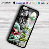 Teenage Mutant Ninja Turtles and Batman iPhone 4/4S 5 S/C/SE 6/6S Plus 7| Samsung Galaxy S4 S5 S6 S7 NOTE 3 4 5| LG G2 G3 G4| MOTOROLA MOTO X X2 NEXUS 6| SONY Z3 Z4 MINI| HTC ONE X M7 M8 M9 M8 MINI CASE