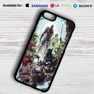 Teenage Mutant Ninja Turtles With Batman iPhone 4/4S 5 S/C/SE 6/6S Plus 7| Samsung Galaxy S4 S5 S6 S7 NOTE 3 4 5| LG G2 G3 G4| MOTOROLA MOTO X X2 NEXUS 6| SONY Z3 Z4 MINI| HTC ONE X M7 M8 M9 M8 MINI CASE