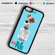 The Secret Life of Pets Max iPhone 4/4S 5 S/C/SE 6/6S Plus 7| Samsung Galaxy S4 S5 S6 S7 NOTE 3 4 5| LG G2 G3 G4| MOTOROLA MOTO X X2 NEXUS 6| SONY Z3 Z4 MINI| HTC ONE X M7 M8 M9 M8 MINI CASE