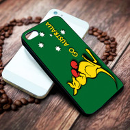 Fire Fighting Kangaroo on your case iphone 4 4s 5 5s 5c 6 6plus 7 case / cases