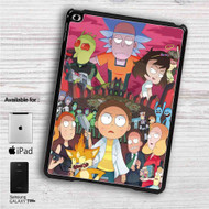 "Rick and Morty City iPad 2 3 4 iPad Mini 1 2 3 4 iPad Air 1 2 | Samsung Galaxy Tab 10.1"" Tab 2 7"" Tab 3 7"" Tab 3 8"" Tab 4 7"" Case"