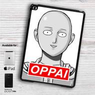 "Saitama Sensei One Punch Man Oppai iPad 2 3 4 iPad Mini 1 2 3 4 iPad Air 1 2 | Samsung Galaxy Tab 10.1"" Tab 2 7"" Tab 3 7"" Tab 3 8"" Tab 4 7"" Case"