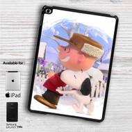 "Snoopy and Charlie Brown The Peanuts Movie iPad 2 3 4 iPad Mini 1 2 3 4 iPad Air 1 2 | Samsung Galaxy Tab 10.1"" Tab 2 7"" Tab 3 7"" Tab 3 8"" Tab 4 7"" Case"