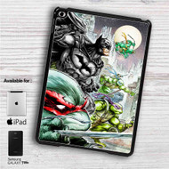 "Teenage Mutant Ninja Turtles and Batman iPad 2 3 4 iPad Mini 1 2 3 4 iPad Air 1 2 | Samsung Galaxy Tab 10.1"" Tab 2 7"" Tab 3 7"" Tab 3 8"" Tab 4 7"" Case"