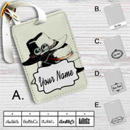 Ace Luffy and Sabo's hats One Piece Custom Leather Luggage Tag