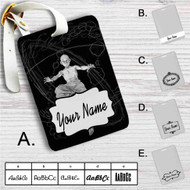 Avatar The Legend of Aang Custom Leather Luggage Tag