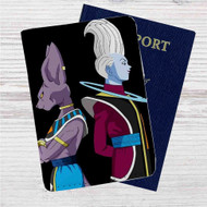 Beerus and Whis Dragon Ball Super Custom Leather Passport Wallet Case Cover