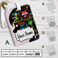 Disney Pixar for Inside Out Custom Leather Luggage Tag