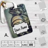 Fallout 4 Army Nuka Cola Custom Leather Luggage Tag