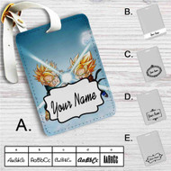 Goten and Trunks Dragon Ball Z Custom Leather Luggage Tag