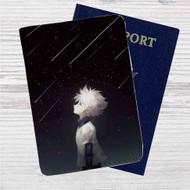 Hunter X Hunter Killua Night Custom Leather Passport Wallet Case Cover