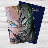 Majin Vegeta Dragon Ball Z Custom Leather Passport Wallet Case Cover