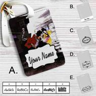 Samurai Champloo 1 Custom Leather Luggage Tag