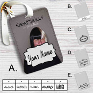 Sia Cheap Thrills Remix ft Nicky Jam Custom Leather Luggage Tag