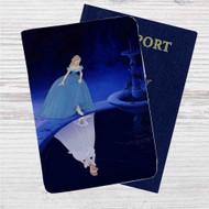 273c4ac5e Princess Cinderella Disney Custom Leather Passport Wallet Case Cover