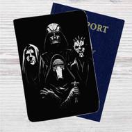 Star Wars Bohemian Rhapsody Custom Leather Passport Wallet Case Cover