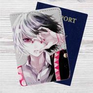 Zusuya Tokyo Ghoul Custom Leather Passport Wallet Case Cover