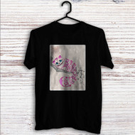 Cat Cheshire Alice in Wonderland Quotes Custom T Shirt Tank Top Men and Woman