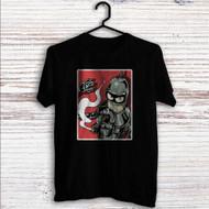 Futurama Bender Smoke Custom T Shirt Tank Top Men and Woman
