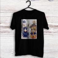 Naruto Shippude Sasuke and Uzumaki Custom T Shirt Tank Top Men and Woman