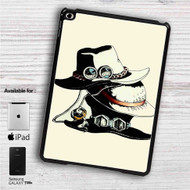 "Ace Luffy and Sabo's hats One Piece iPad 2 3 4 iPad Mini 1 2 3 4 iPad Air 1 2 | Samsung Galaxy Tab 10.1"" Tab 2 7"" Tab 3 7"" Tab 3 8"" Tab 4 7"" Case"