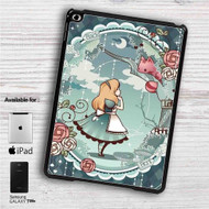 "Alice in Wonderland Disney iPad 2 3 4 iPad Mini 1 2 3 4 iPad Air 1 2 | Samsung Galaxy Tab 10.1"" Tab 2 7"" Tab 3 7"" Tab 3 8"" Tab 4 7"" Case"