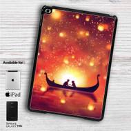 "Disney Tangled Night Romantic iPad 2 3 4 iPad Mini 1 2 3 4 iPad Air 1 2 | Samsung Galaxy Tab 10.1"" Tab 2 7"" Tab 3 7"" Tab 3 8"" Tab 4 7"" Case"