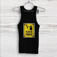 Star Wars Please Don´t Use The Force Custom Men Woman Tank Top T Shirt Shirt