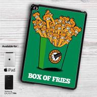 """Futurama Fry Box of Fries iPad 2 3 4 iPad Mini 1 2 3 4 iPad Air 1 2   Samsung Galaxy Tab 10.1"""" Tab 2 7"""" Tab 3 7"""" Tab 3 8"""" Tab 4 7"""" Case"""