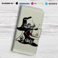 Ace, Luffy and Sabo's hats One Piece Custom Leather Wallet iPhone 4/4S 5S/C 6/6S Plus 7| Samsung Galaxy S4 S5 S6 S7 Note 3 4 5| LG G2 G3 G4| Motorola Moto X X2 Nexus 6| Sony Z3 Z4 Mini| HTC ONE X M7 M8 M9 Case