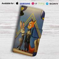 Disney Zootopia Police Custom Leather Wallet iPhone 4/4S 5S/C 6/6S Plus 7| Samsung Galaxy S4 S5 S6 S7 Note 3 4 5| LG G2 G3 G4| Motorola Moto X X2 Nexus 6| Sony Z3 Z4 Mini| HTC ONE X M7 M8 M9 Case