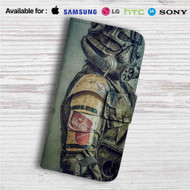 Fallout 4 Army Nuka Cola Custom Leather Wallet iPhone 4/4S 5S/C 6/6S Plus 7| Samsung Galaxy S4 S5 S6 S7 Note 3 4 5| LG G2 G3 G4| Motorola Moto X X2 Nexus 6| Sony Z3 Z4 Mini| HTC ONE X M7 M8 M9 Case