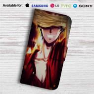 Monkey D Luffy Custom Leather Wallet iPhone 4/4S 5S/C 6/6S Plus 7| Samsung Galaxy S4 S5 S6 S7 Note 3 4 5| LG G2 G3 G4| Motorola Moto X X2 Nexus 6| Sony Z3 Z4 Mini| HTC ONE X M7 M8 M9 Case