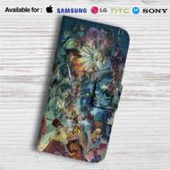 Overwatch Ultimate Custom Leather Wallet iPhone 4/4S 5S/C 6/6S Plus 7  Samsung Galaxy S4 S5 S6 S7 Note 3 4 5  LG G2 G3 G4  Motorola Moto X X2 Nexus 6  Sony Z3 Z4 Mini  HTC ONE X M7 M8 M9 Case