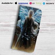 Tōshirō Hitsugaya Bleach Custom Leather Wallet iPhone 4/4S 5S/C 6/6S Plus 7| Samsung Galaxy S4 S5 S6 S7 Note 3 4 5| LG G2 G3 G4| Motorola Moto X X2 Nexus 6| Sony Z3 Z4 Mini| HTC ONE X M7 M8 M9 Case