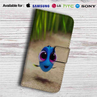 Baby Dory Disney Custom Leather Wallet iPhone 4/4S 5S/C 6/6S Plus 7| Samsung Galaxy S4 S5 S6 S7 Note 3 4 5| LG G2 G3 G4| Motorola Moto X X2 Nexus 6| Sony Z3 Z4 Mini| HTC ONE X M7 M8 M9 Case
