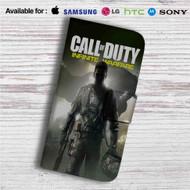 Call of Duty Infinite Warfare Custom Leather Wallet iPhone 4/4S 5S/C 6/6S Plus 7| Samsung Galaxy S4 S5 S6 S7 Note 3 4 5| LG G2 G3 G4| Motorola Moto X X2 Nexus 6| Sony Z3 Z4 Mini| HTC ONE X M7 M8 M9 Case
