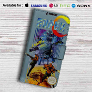Contra Super C Custom Leather Wallet iPhone 4/4S 5S/C 6/6S Plus 7| Samsung Galaxy S4 S5 S6 S7 Note 3 4 5| LG G2 G3 G4| Motorola Moto X X2 Nexus 6| Sony Z3 Z4 Mini| HTC ONE X M7 M8 M9 Case