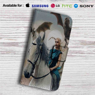 Game of Thrones Daenerys Custom Leather Wallet iPhone 4/4S 5S/C 6/6S Plus 7| Samsung Galaxy S4 S5 S6 S7 Note 3 4 5| LG G2 G3 G4| Motorola Moto X X2 Nexus 6| Sony Z3 Z4 Mini| HTC ONE X M7 M8 M9 Case