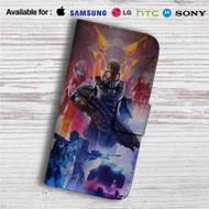 Halo 5  Team Osiris Custom Leather Wallet iPhone 4/4S 5S/C 6/6S Plus 7| Samsung Galaxy S4 S5 S6 S7 Note 3 4 5| LG G2 G3 G4| Motorola Moto X X2 Nexus 6| Sony Z3 Z4 Mini| HTC ONE X M7 M8 M9 Case