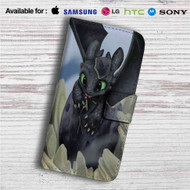 How To Train Your Dragon Toothless Custom Leather Wallet iPhone 4/4S 5S/C 6/6S Plus 7| Samsung Galaxy S4 S5 S6 S7 Note 3 4 5| LG G2 G3 G4| Motorola Moto X X2 Nexus 6| Sony Z3 Z4 Mini| HTC ONE X M7 M8 M9 Case
