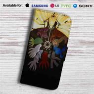 Naruto Chakra and Bijuu Mode Custom Leather Wallet iPhone 4/4S 5S/C 6/6S Plus 7| Samsung Galaxy S4 S5 S6 S7 Note 3 4 5| LG G2 G3 G4| Motorola Moto X X2 Nexus 6| Sony Z3 Z4 Mini| HTC ONE X M7 M8 M9 Case